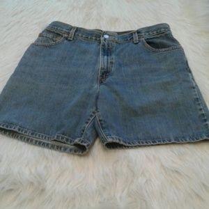 Levi's jean shorts 14 $ 18.00 # 615